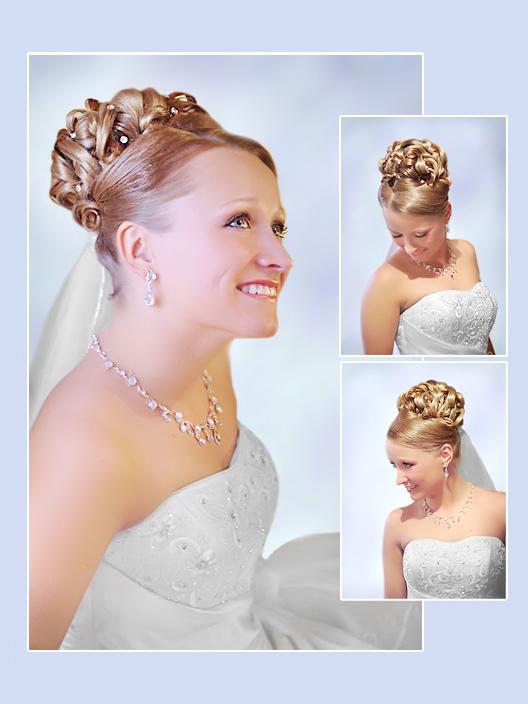 Brautfrisur kurze haare diadem