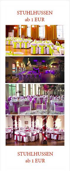 Stuhlhusse für Hochzeit in Bochum, Wuppertal, Bonn sowie in Bielefeld, Münster und Aachen ausleihen